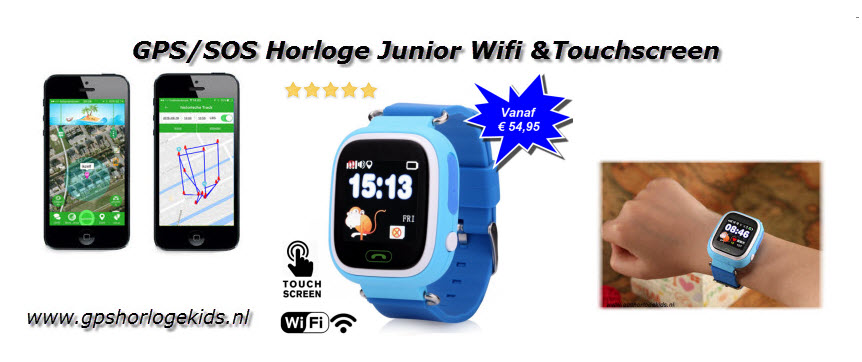 GPS Horloge Junior Q90 3 luik vanaf € 54,95