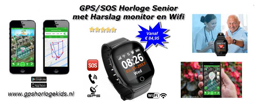 GPS Horloge senioren ouderen Wifi Telefoon Track SOS, dit voor uiterst scherpe prijs!